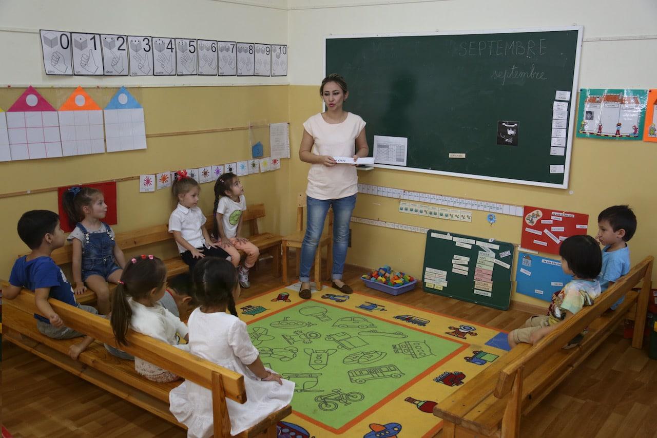 ecole francaise TAchkent 2016 classe de maternelle