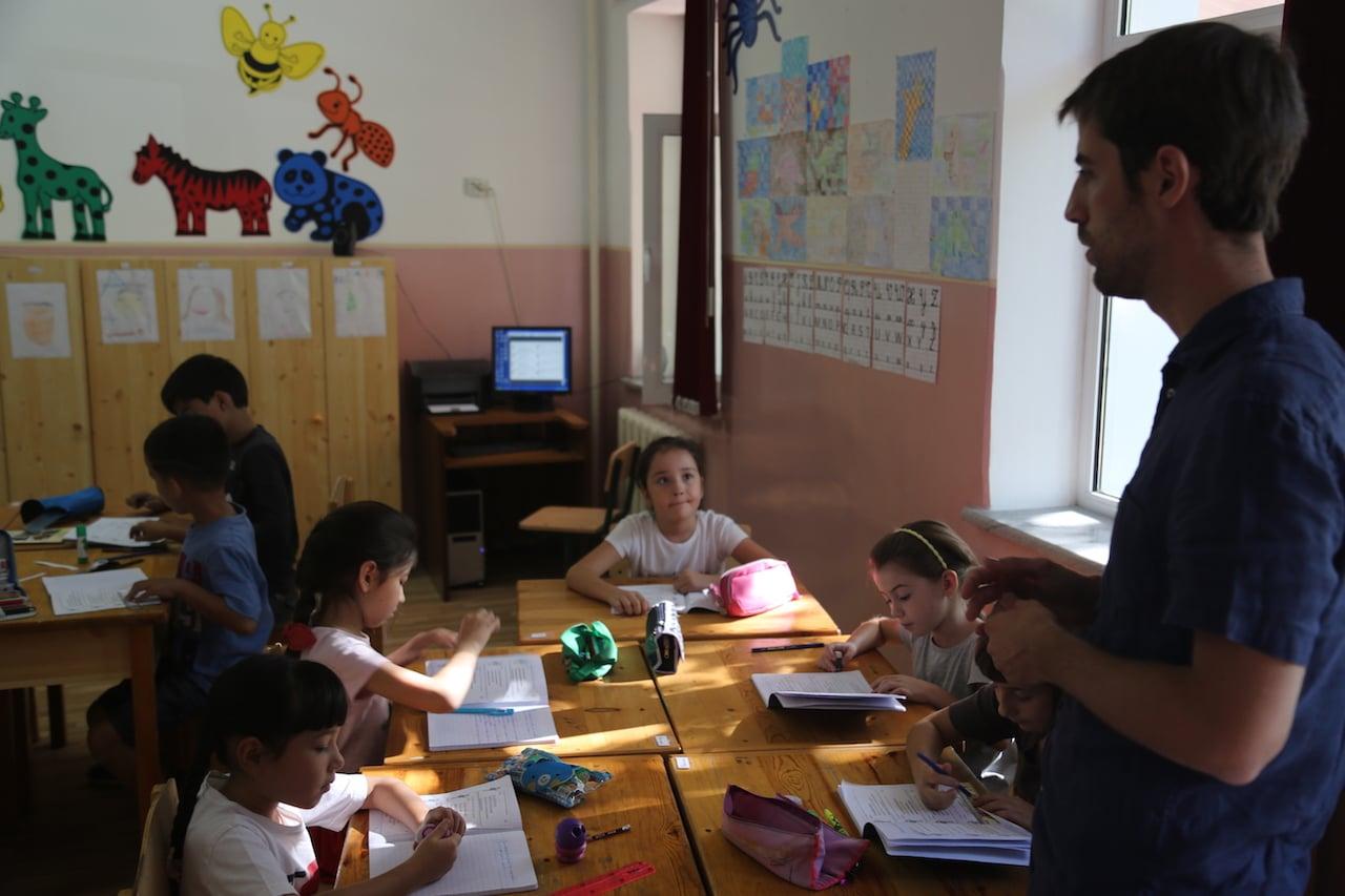 ecole francaise TAchkent 2016 classe de CP