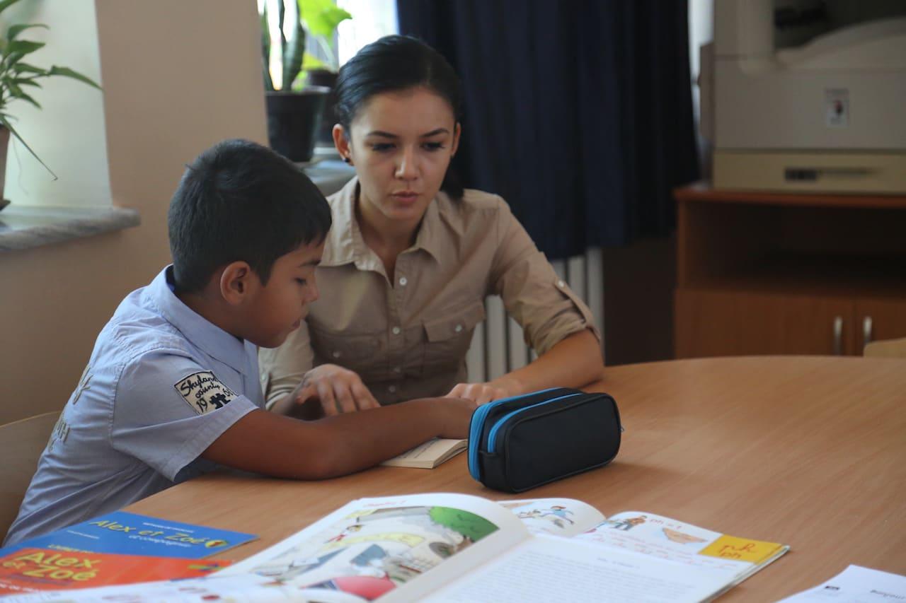 ecole francaise TAchkent 2016 classe de FLE