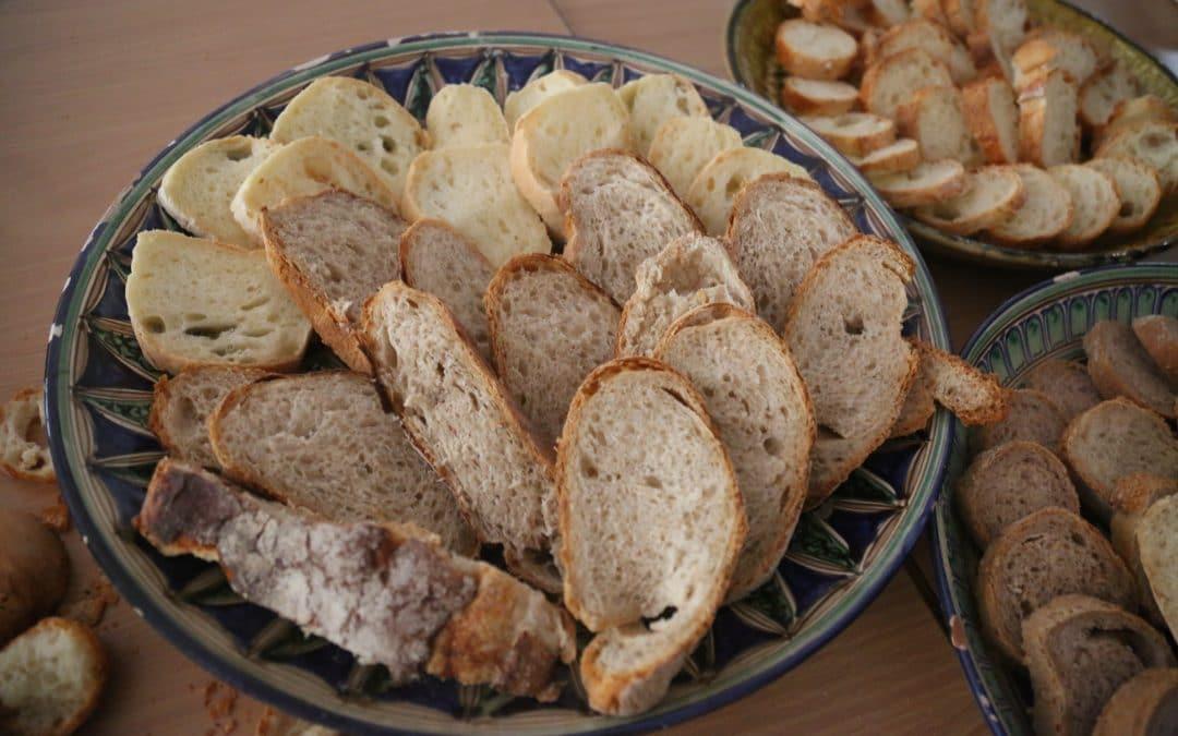 Visite d'un boulanger français