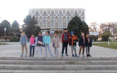 La visite au musée d'Histoire d'Ouzbékistan