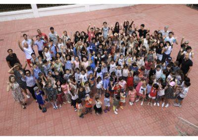 Photo toute l'école
