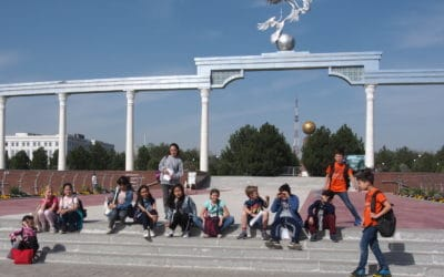 BALADE DES CM2 à travers l'Histoire de Tachkent et de l'Ouzbékistan, 18 mars 2019