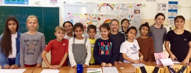 ecole francaise TAchkent 2016 classe de CM2