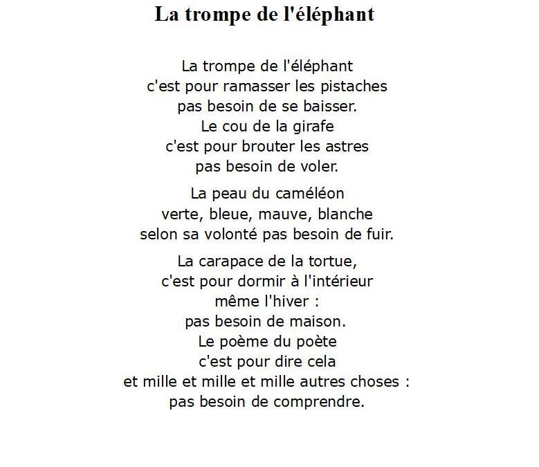 A la manière de Alain Bosquet
