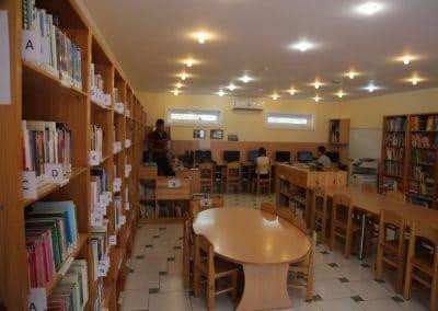 bibliotheque francais Tachkent