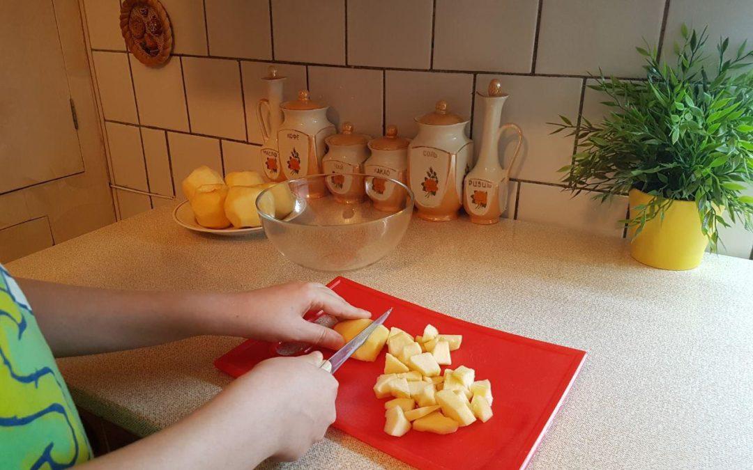 La compote de pommes